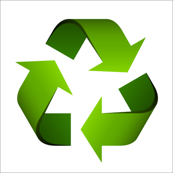 image of green recycling icon